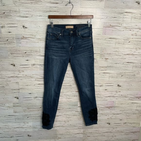 7 for all mankind Blair high rise skinny jeans 27